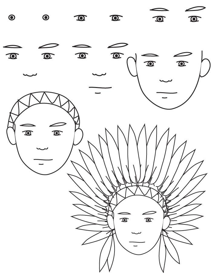 dibujos indios